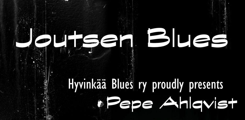 Joutsen Blues -juliste